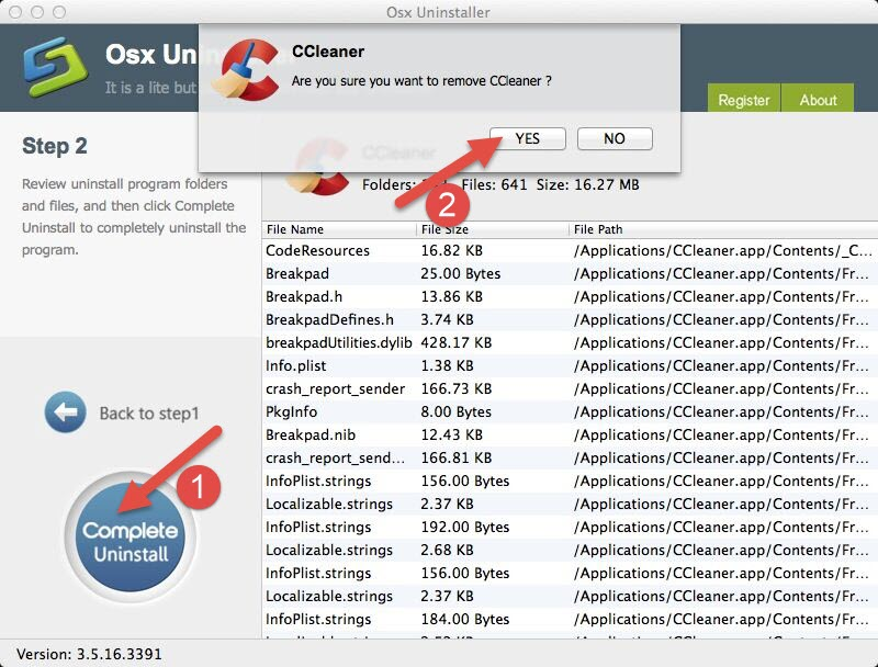 remove CCleaner