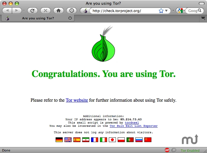 download tor for mac os x