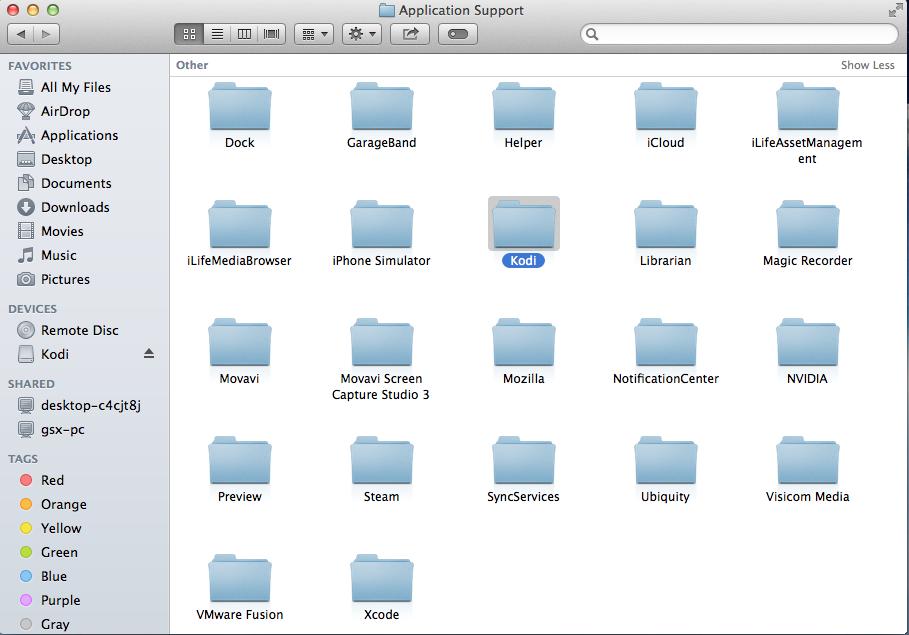 Kodi files
