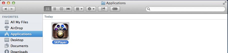 5KPlayer on Mac