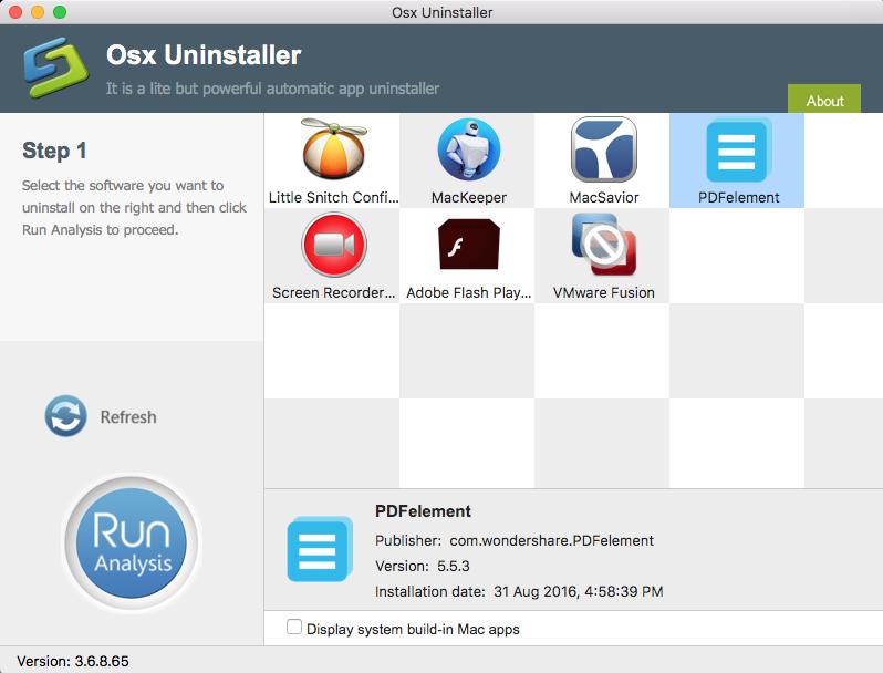 uninstall Wondershare PDFelemen with Osx Uninstaller (7)