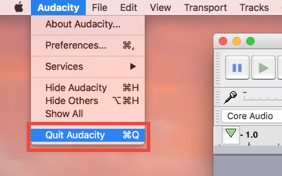 Uninstall Audacity under Mac OS X – Mac Program Removal