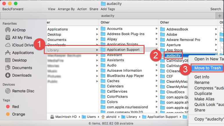 audacity plugins not showing up mac
