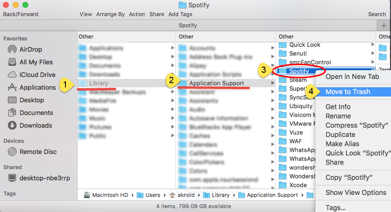 How to remove Spotify in Mac OS X—osxuninstaller com