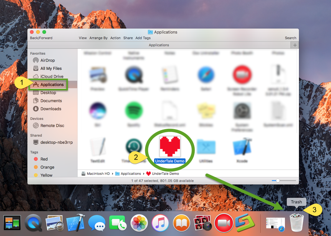 How to Uninstall Undertale on Mac - osxuninstaller (1)