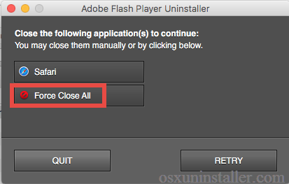 how to uninstall Adobe Flash Player for Mac - osxuninstaller (4)