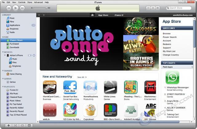 uninstall Apple iTunes