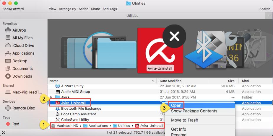 How to uninstall Avira Free Antivirus for Mac - osxuninstaller (10)