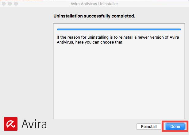 How to uninstall Avira Free Antivirus for Mac - osxuninstaller (6)