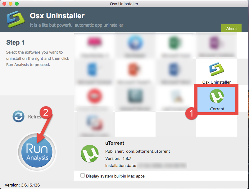 Uninstall uTorrent on macOS - Osx Uninstaller (1)