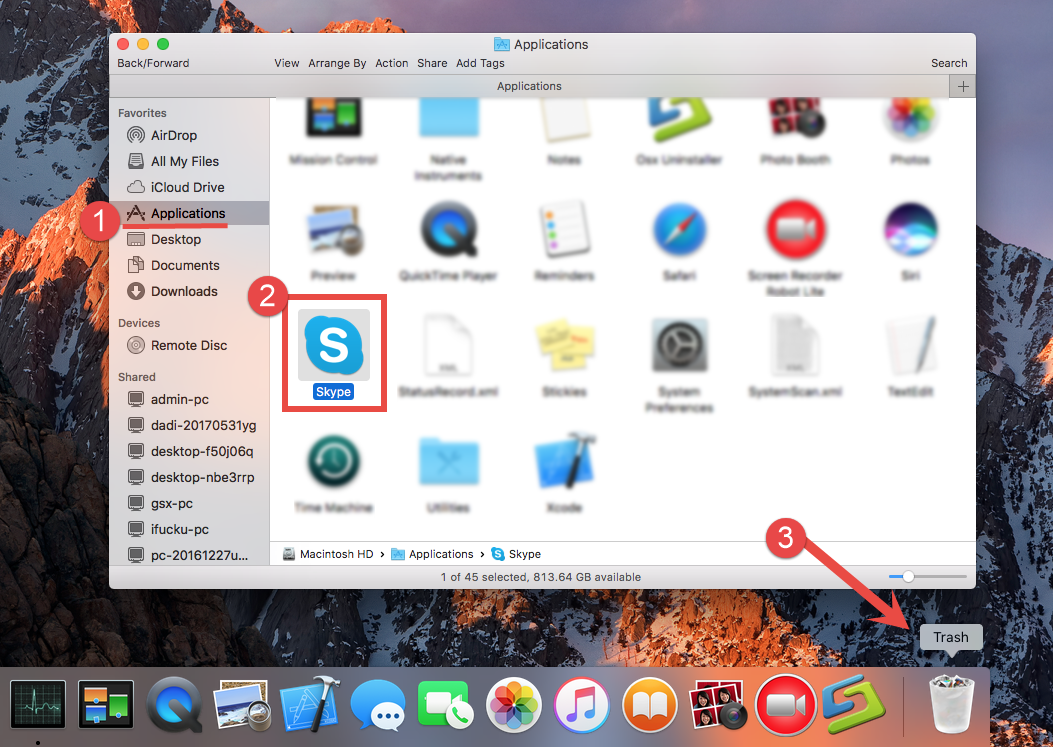 How To Uninstall Skype For Mac  Osxuninstaller (5)