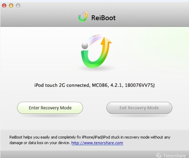 uninstall ReiBoot on Mac