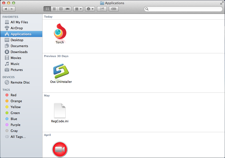 Torch Browser for Mac
