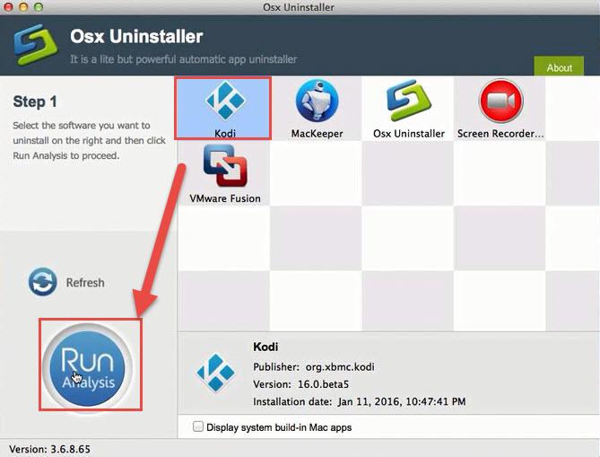 remove Kodi Osx Uninstaller