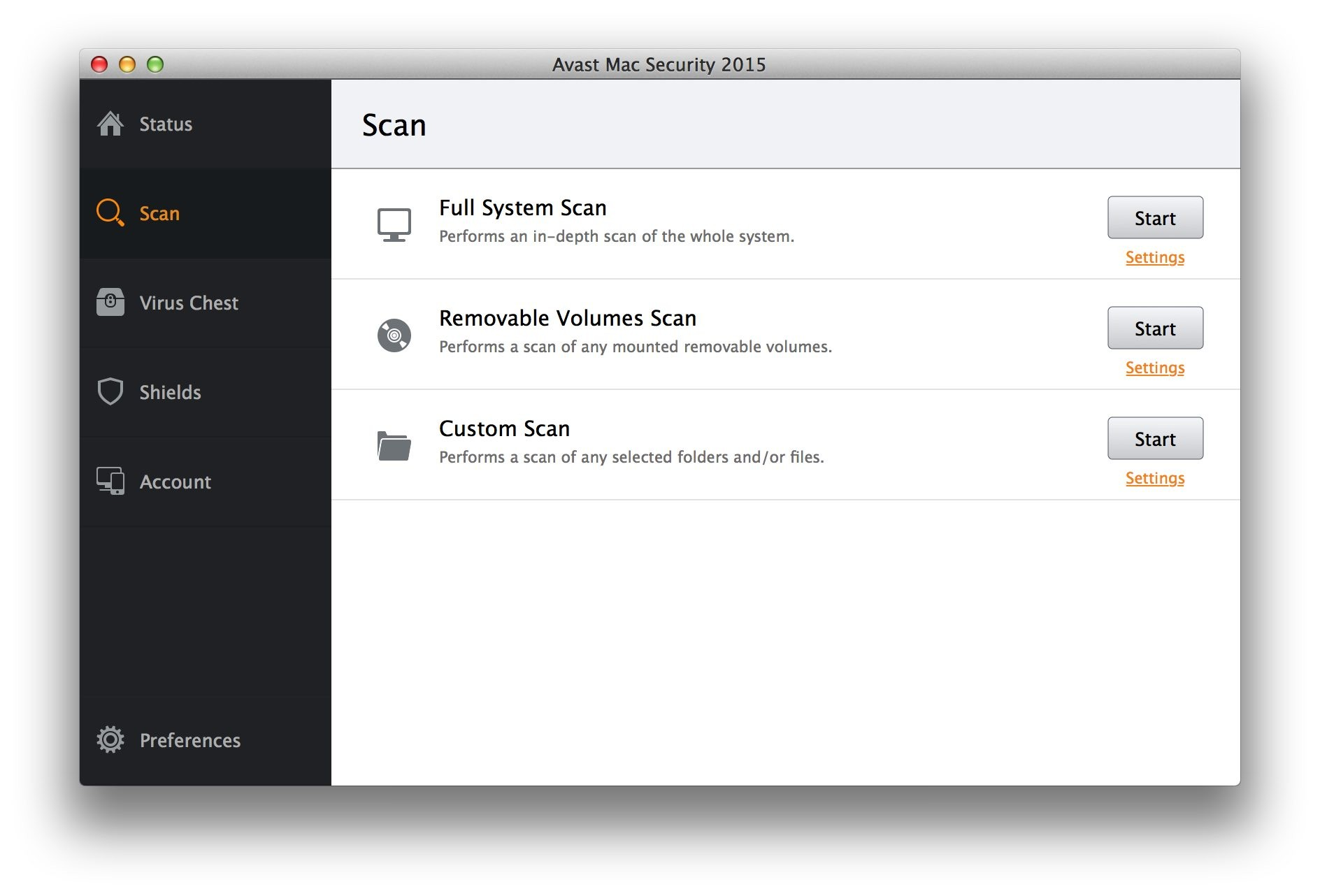 remove Avast Free Mac Security 2015