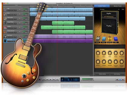 remove Apple GarageBand