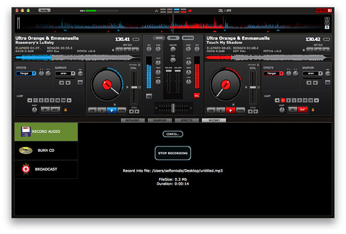 uninstall VirtualDJ on Mac