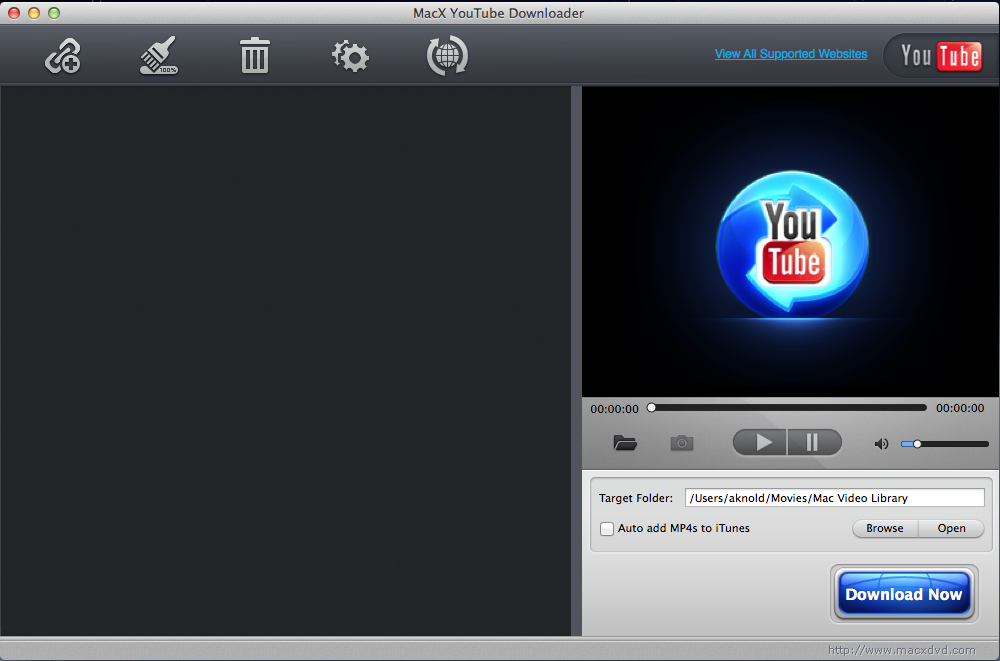 uninstall MacX YouTube Downloader