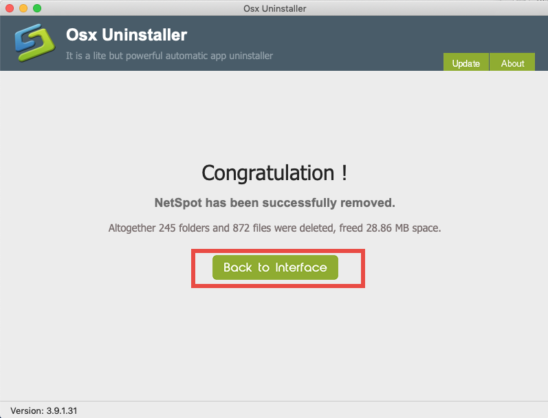 how to uninstall netspot for mac