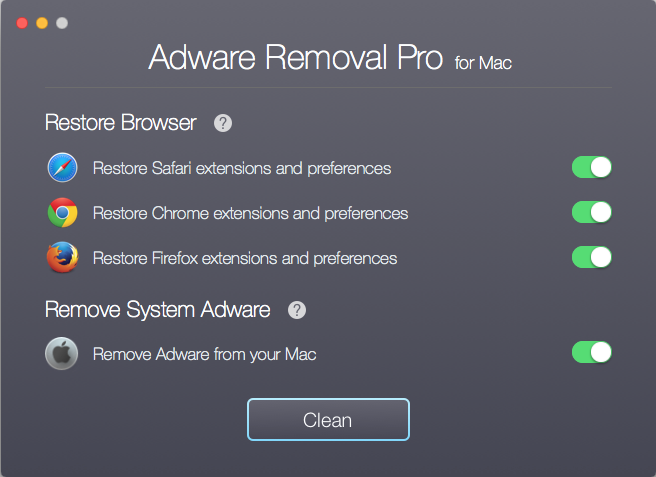 Adware Removal Pro for Mac