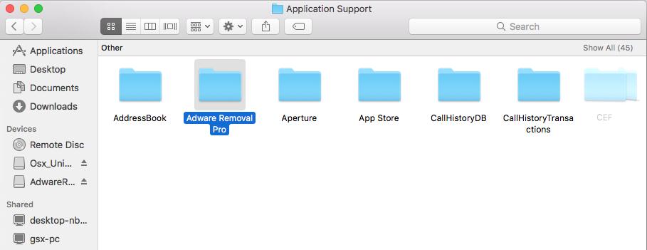 How to delete library accounts folders mac app