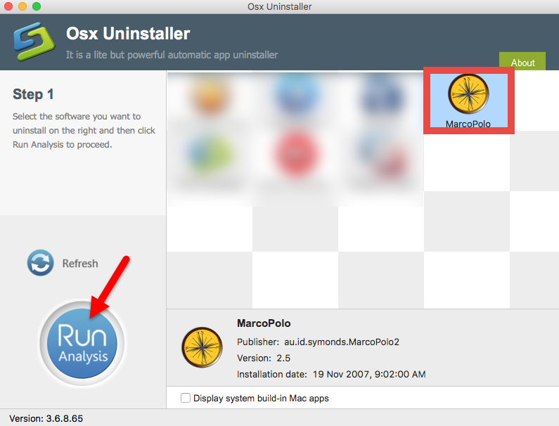 Uninstall MarcoPolo using Osx Uninstaller (1)