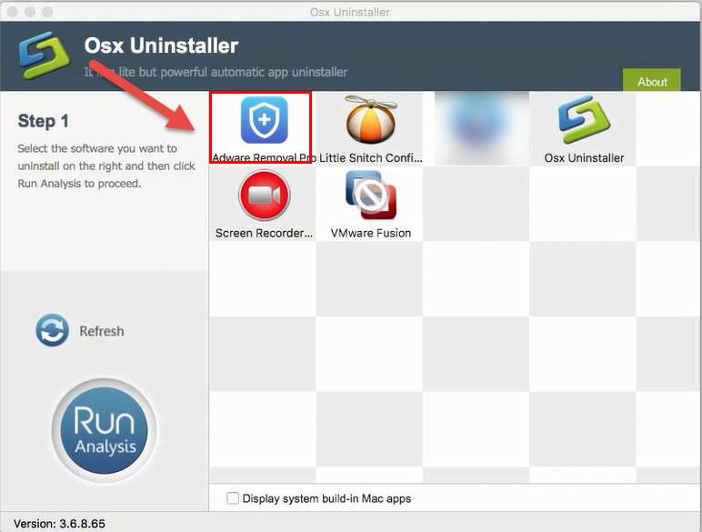 uninstall Adware Removal Pro with Osx Uninstaller