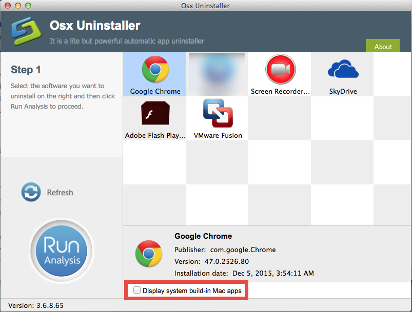 use Osx Uninstaller to remove Mac apps (1)