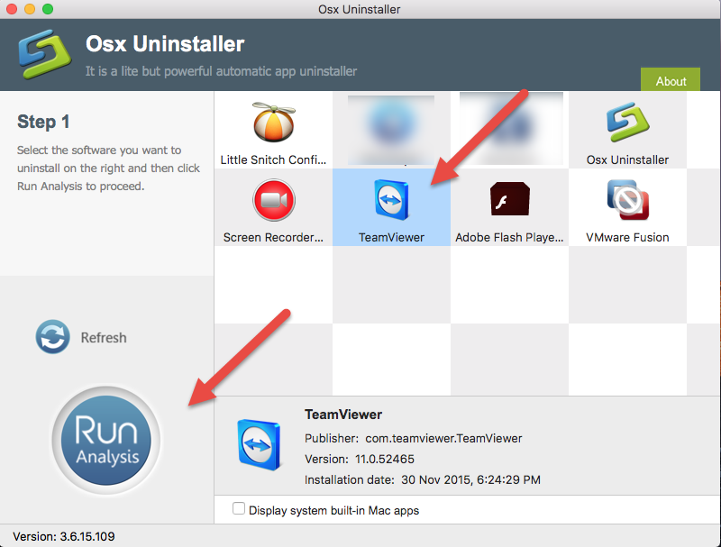 uninstall TeamViewer on Mac