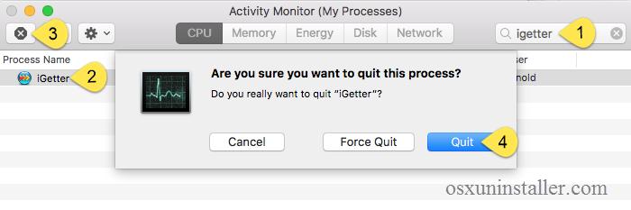 Uninstall iGetter on Mac (3)