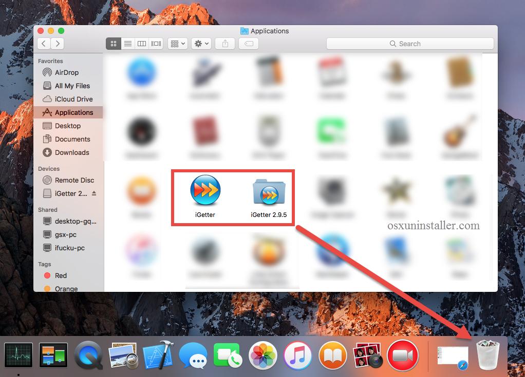 Uninstall iGetter on Mac (5)