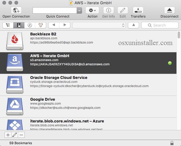 cyberduck pour mac 10.8