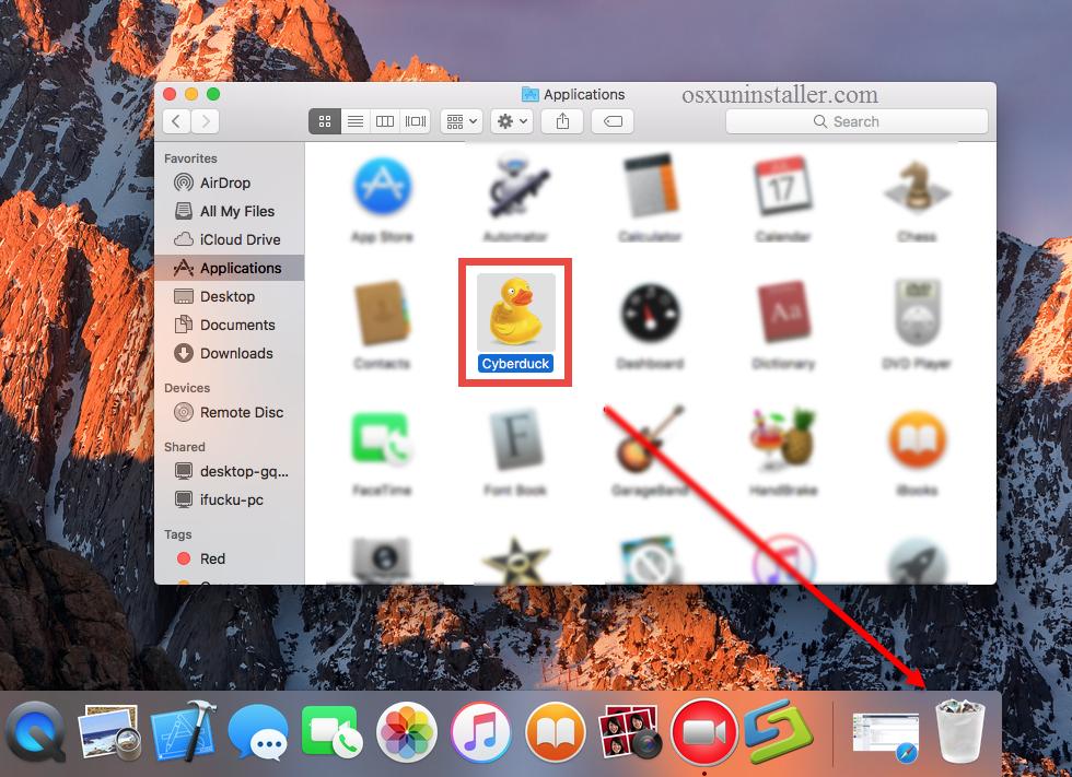 UninstallCyberDuck on Mac - Osx Uninstaller (6)