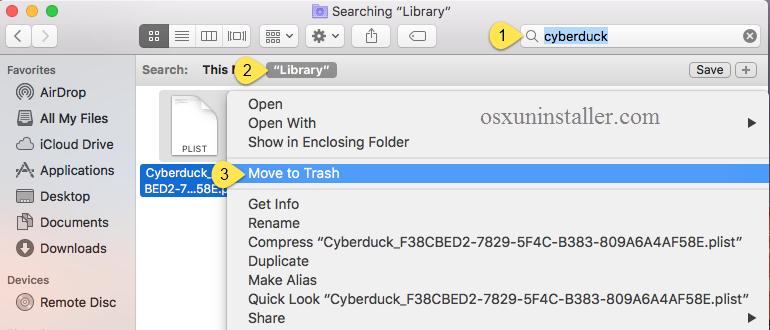 UninstallCyberDuck on Mac - Osx Uninstaller (8)
