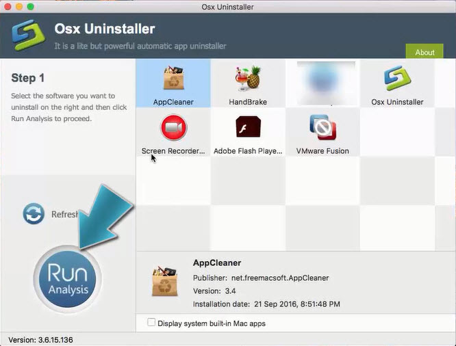 uninstall AppCleaner with Osx Uninstaller