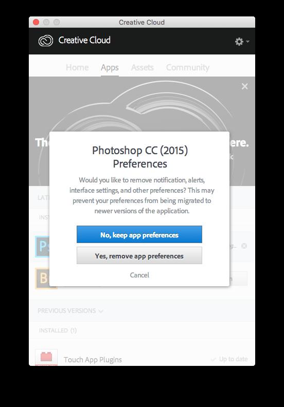 remove Adobe Photoshop CC