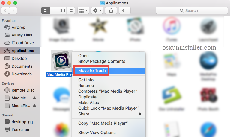 How to Uninstall Mac Media Player from Mac