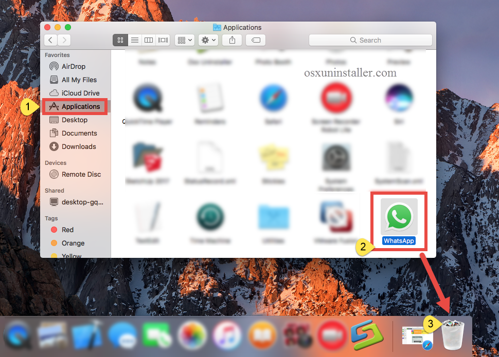 Uninstall Whatsapp on Mac - Osx Uninstaller (2)