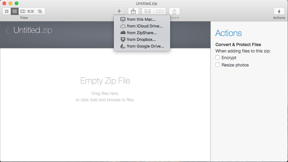 winzip for mac free download