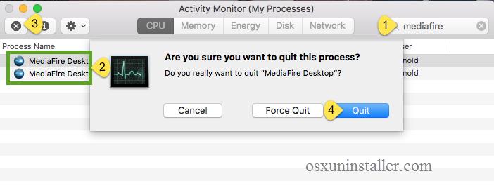 Uninstall MediaFire Desktop on Mac - Osx Uninstaller (2)