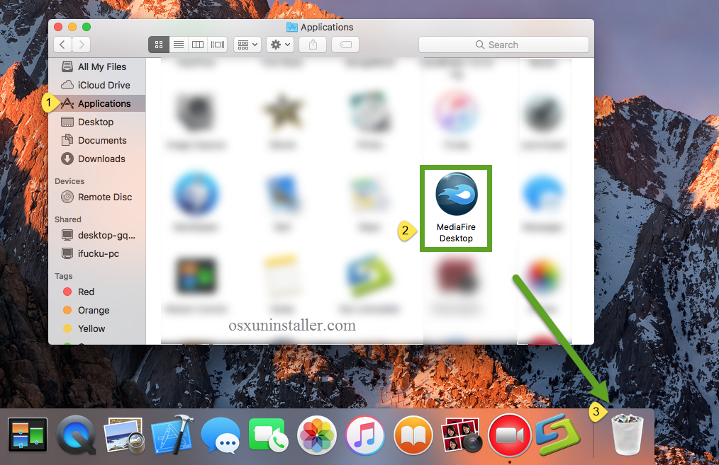 Uninstall MediaFire Desktop on Mac - Osx Uninstaller (3)
