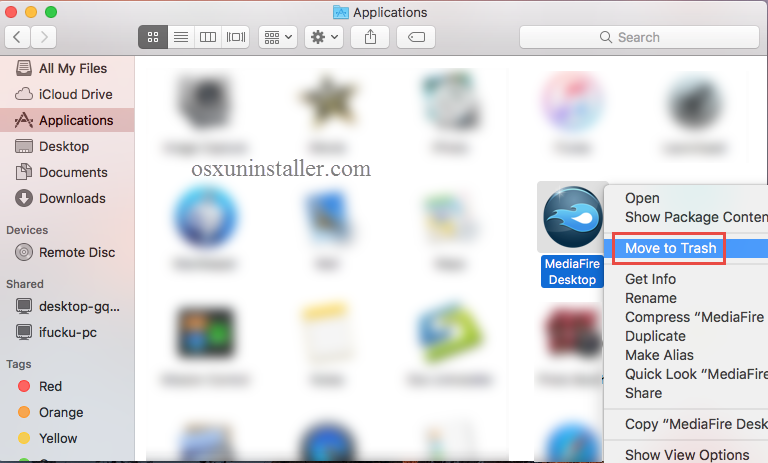 Uninstall MediaFire Desktop on Mac - Osx Uninstaller (4)