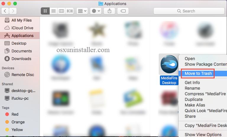 Uninstall MediaFire Desktop on Mac - Osx Uninstaller (4)