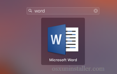 Uninstall Microsoft Word 2016 for Mac - Osx Uninstaller (8)