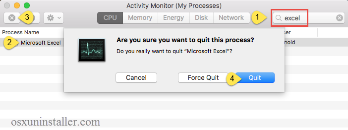 quit Microsoft Excel 2016 (2)