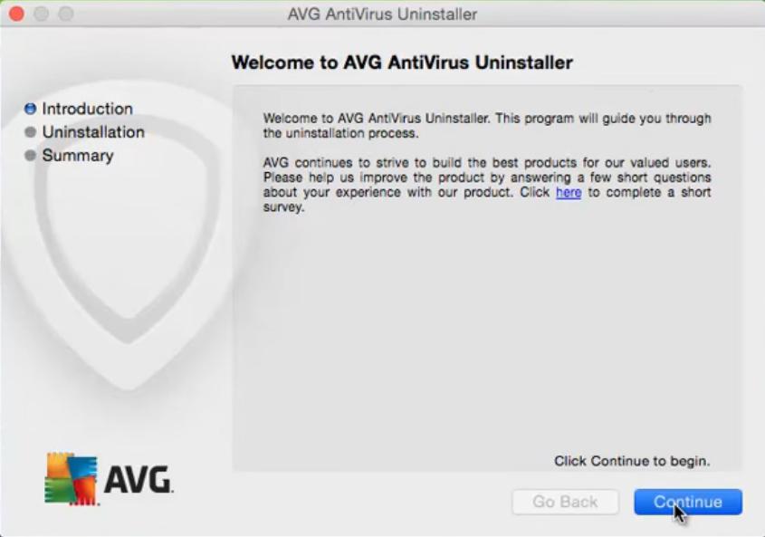how do i uninstall avg linkscanner for mac