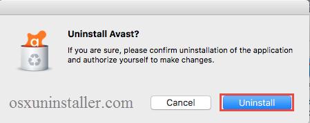 Uninstall Avast Mac Security - osxuninstaller (2)