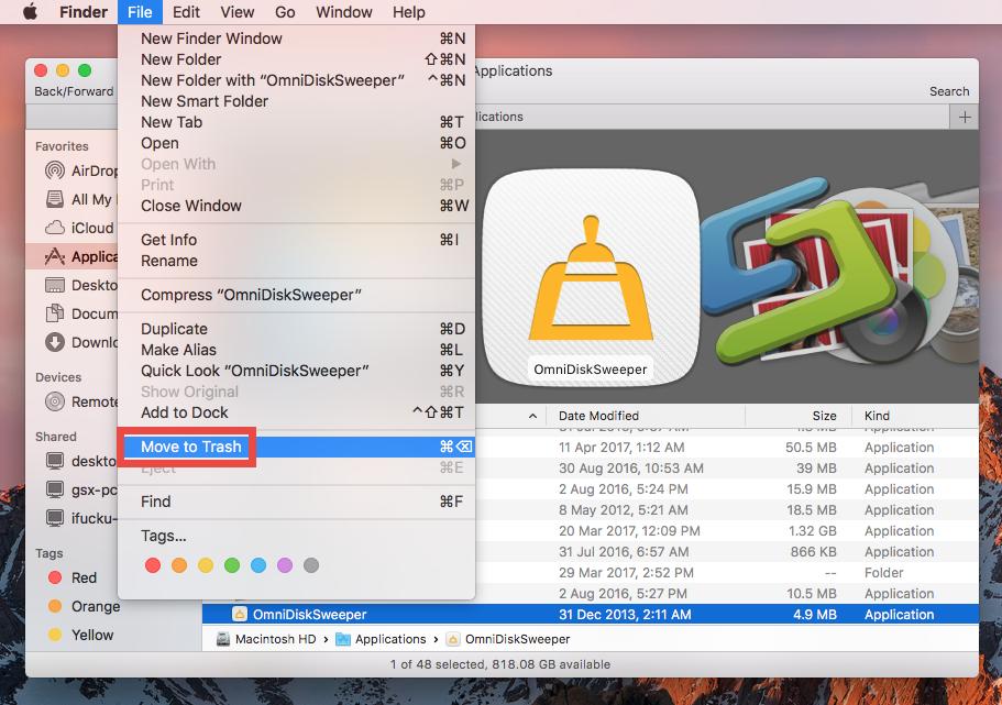 Hassle-Free Ways to Uninstall OmniDiskSweeper