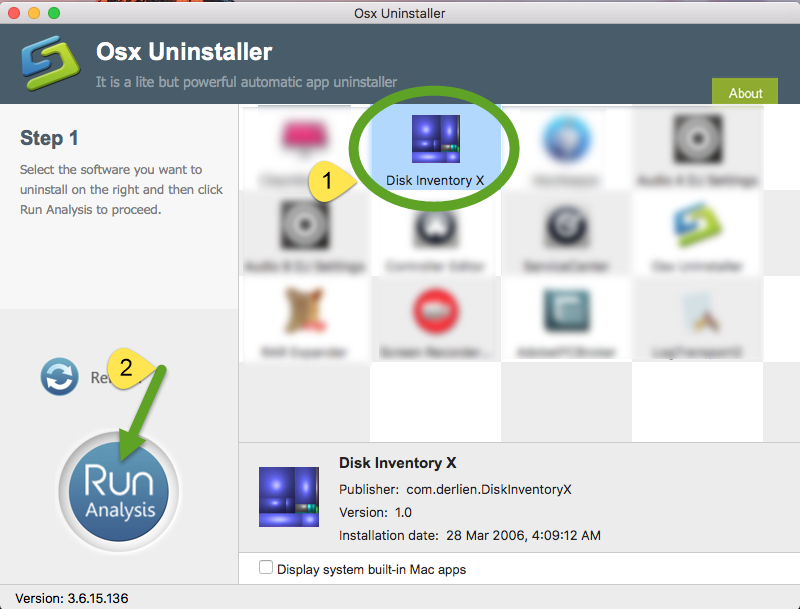 uninstall Disk Inventory X via Osx Uninstaller (1)