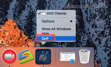 How to Uninstall AVG Cleaner for Mac - osxuninstaller (5)